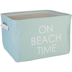 Azzure Medium On Beach Time Storage Bin