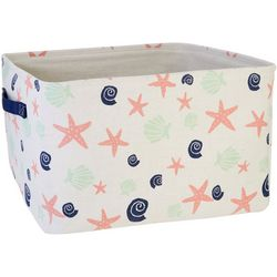 Azzure Large Sea Shells Storage Bin