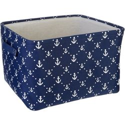 Azzure Medium Anchors Storage Bin