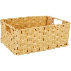 Straw Studios Woven Rectangular Basket