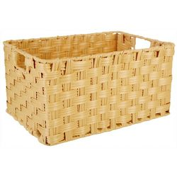 Straw Studios Rectangular Woven Basket