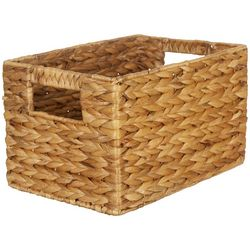 Straw Studios Woven Rectangular Decorative Storage Basket