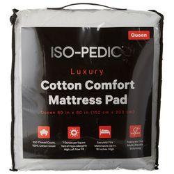 Iso-Pedic Cotton Comfort Mattress Pad