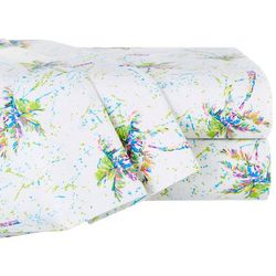 Leoma Lovegrove Palms Away Print Microfiber Sheet Set