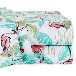 Elite Home Flamingo Paradise Sheet Set