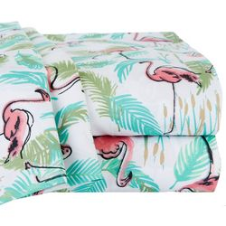 Elite Home Flamingo Paradise Sheet Set
