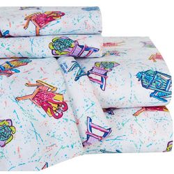 Leoma Lovegrove Front Row Seats Microfiber Sheet Set