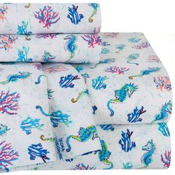 Leoma Lovegrove Sea Scouts Print Microfiber Sheet Set