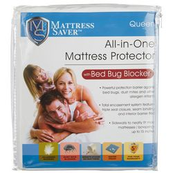 Fresh Ideas All-In-One Mattress Protector Bed Bug Blocker