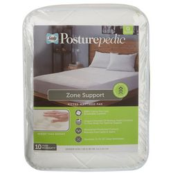 Sealy Posturepedic Zone Support Fitted Mattress Pad
