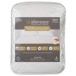 Allerease Memory Foam Allergy Protection Mattress Pad
