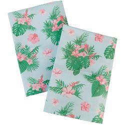 Coastal Home 2-pc. Tropical Floral Pillow Case Set