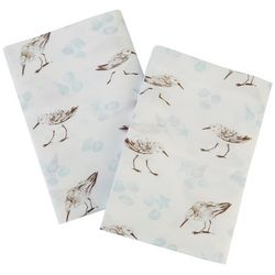 Coastal Home Sandpiper Shell Sheet Set