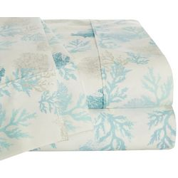 Coastal Home Coral Garden Sheet Set