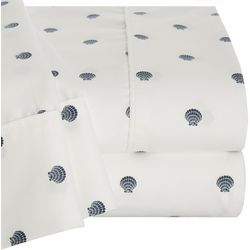 Coastal Home Scalllop Shell Sheet Set