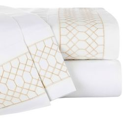 S.L. Home Fashions 4-pc. Dorie Sheet Set