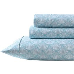 Coastal Home Shells Sheet Set