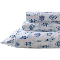 Coastal Home Tranquil Depths Sheet Set