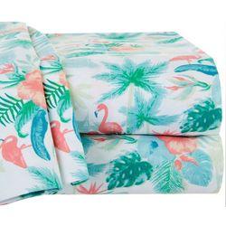 Coastal Home Forest Flamingo Sheet Set