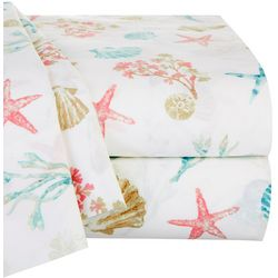 Panama Jack Sea Shore Sea Shell Sheet Set
