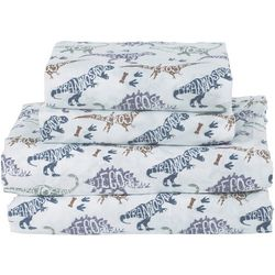 Beatrice Home Dinosaur Name Microfiber Sheet Set