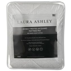 Laura Ashley Annecy Printed Jacquard Mattress Pad