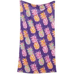 Coastal Home Rainbow Pineapple Beach Towel