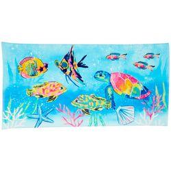 Tropix School Of Fish Beach Towel