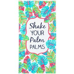 Tackle & Tides Shake Your Palm Palms Beach Towel