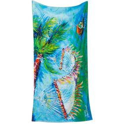 Leoma Lovegrove Take Five Beach Towel