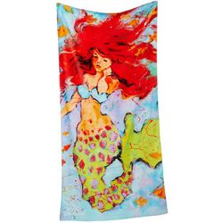 Leoma Lovegrove Club Mermaid Beach Towel