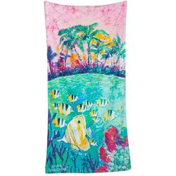 Leoma Lovegrove Spring Break Beach Towel