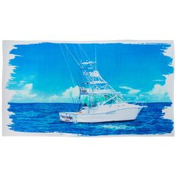 Reel Legends Canvas Boat Beach Towel