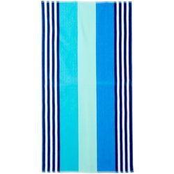 Tropix Boardwalk Stripe Jacquard Beach Towel