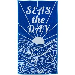 Tropix Seas The Day Beach Towel