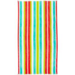 Tropix Calypso Stripe Jacquard Beach Towel