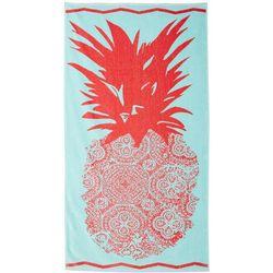 Tropix Pineapple Medallion Beach Towel