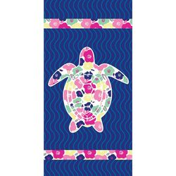 JGR Copa Flower Turtle Beach Towel