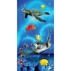 JGR Copa Twin Turtles Beach Towel