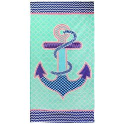 JGR Copa Pattern Anchor Beach Towel