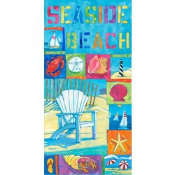 JGR Copa Seaside Beach Beach Towel