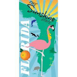 JGR Copa Sunshine State Flamingo Beach Towel