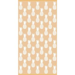 Safdie Pineapple Stripe Beach Towel