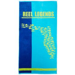 Reel Legends Inshore America Beach Towel