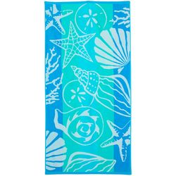 Tropix Sea Floor Stripe Beach Towel