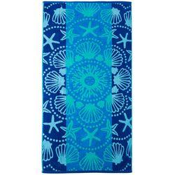 Tropix Shell Mandala Beach Towel