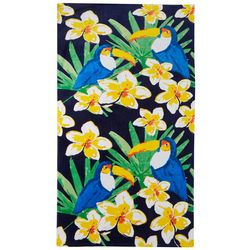 Coastal Home Tropical Toucan Beach Towel