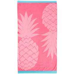 Coastal Home Pineapple Beach Towel