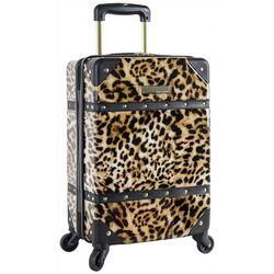 Vince Camuto 18'' Leopard Hardside Spinner Luggage