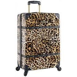 Vince Camuto 24'' Leopard Hardside Spinner Luggage
